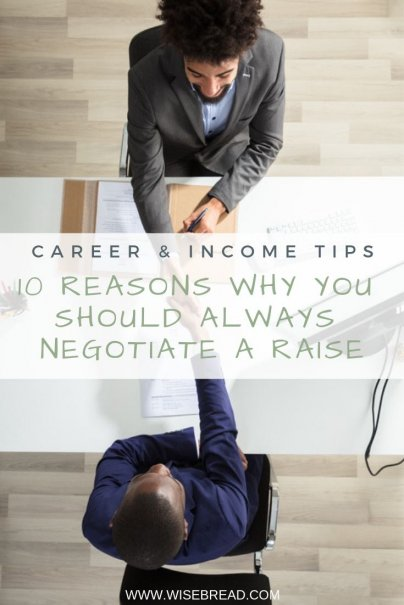Salary negotiations offer many benefits to an employee. From earning respect, to extra cash, or additional perks, here are 10 reasons why you should enhance your career by asking for a raise. | #careertips #careeradvice #salaryraise