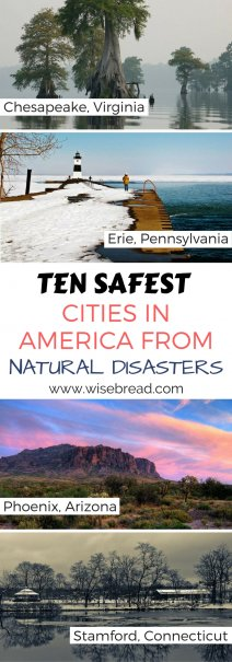10 Safest Cities in America from Natural Disasters
