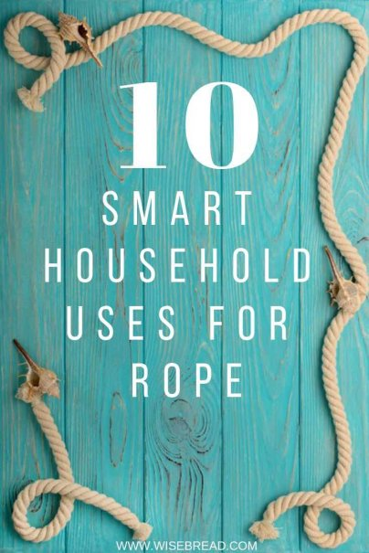 Did you know you can make all sorts of awesome DIY projects with rope? From rope rugs, to a mirror, to shelves and a swing bed, we've got so many home decor ideas for you! | #frugalliving #DIY #homedecor