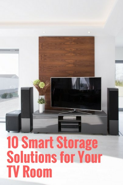 10 Smart Storage Solutions for Your TV Room