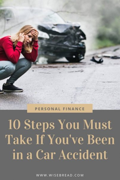 Want to know what to do when you are in a car accident? We've got the step by step instructions and tips for you to get through this traumatic accident. | #lifehacks #caraccident #safety