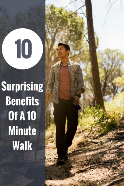 10 Surprising Benefits Of: A 10 Minute Walk
