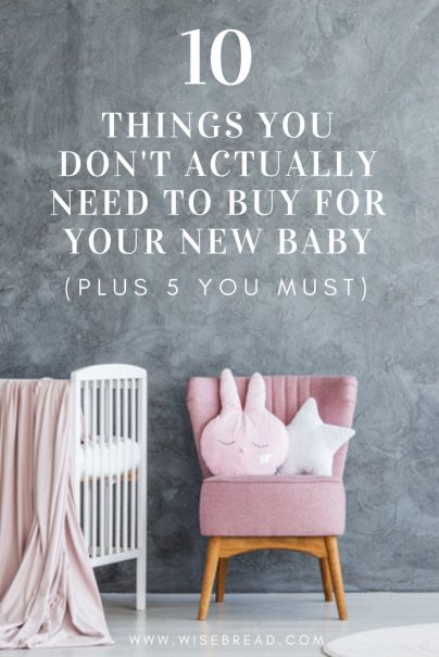 Are you pregnant and soon expecting a newborn baby? Well you actually don't need as many things as you think. We've got the tips on what you don't need to buy, and what you do, so that you can save money and be more frugal with your choices. | #baby #babytips #babygear