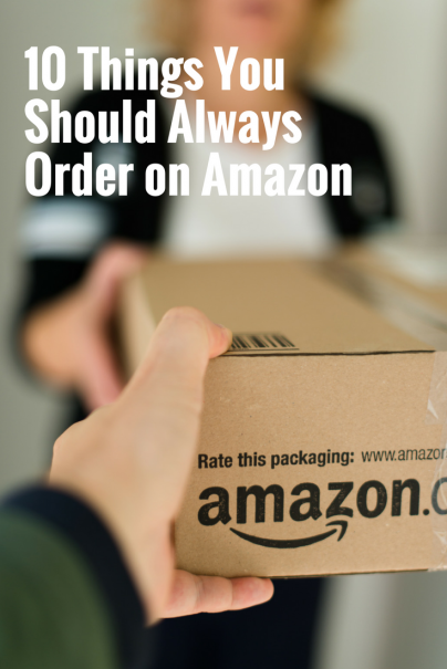 10 Things You Should Always Order on Amazon