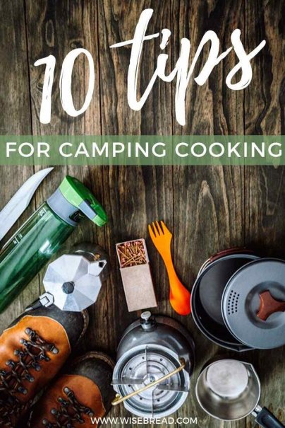 Are you going camping soon? Here are some great tips and hacks for your outdoor camping kitchen! | #camping #DIY #lifehacks