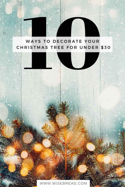 It's time for Christmas Decorations! Here are some budget friendly crafts and ideas for your Xmas tree. Here are your Holiday season tips! | #christmas #frugalliving #DIY