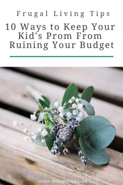 By being proactive about your purchases, using your resources, and applying a bit of savvy spending, you can send your kid of to the dance in style. Here are a few ideas to save money on the big night! | #prom #savemoney #cheappromdress #frugalliving
