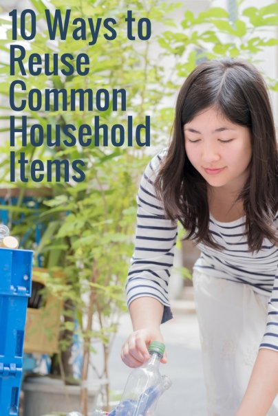 10 Ways to Reuse Common Household Items