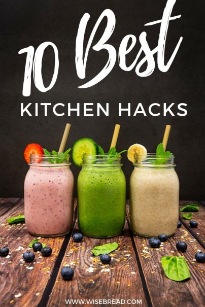 There are a lot of things that are laying around that can be used for something entirely unexpected. Here are the best kitchen hacks you need to know! | #kitchenhacks #frugalliving #lifehacks