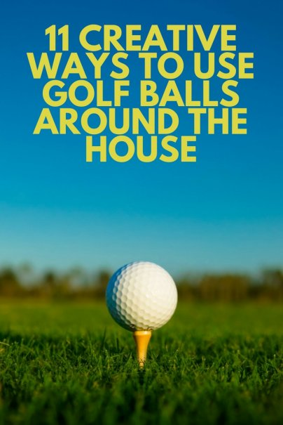 11 Creative Ways to Use Golf Balls Around the House