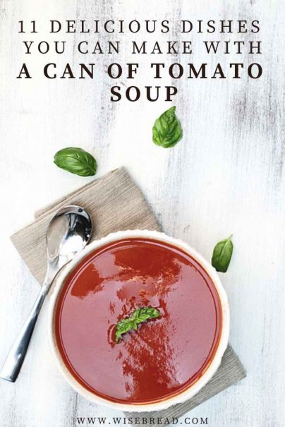 Wan't some easy and simple recipes that you can make with tomato soup? We've got a frugal recipe for you! From creole to slow cooker lasagne, stew and cabbage rolls, here are 11 dishes you can make with this quick and cheap ingredient! | #tomatosoup #frugalfood #cheaprecipes