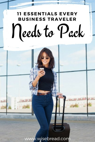 11 Essentials Every Business Traveler Needs to Pack