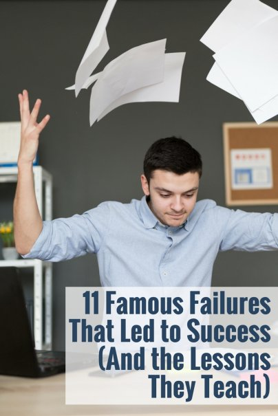 11 Famous Failures That Led to Success (And the Lessons They Teach)