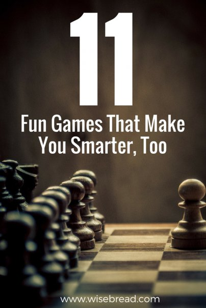 11 Fun Games That Make You Smarter, Too