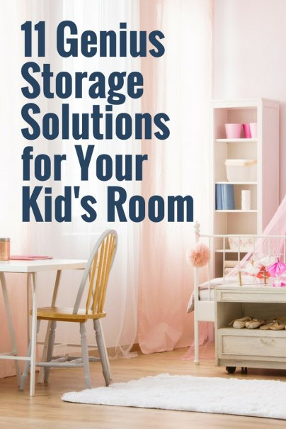 11 Genius Storage Solutions for Your Kid's Room