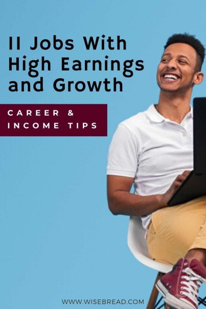 Do you want a job where opportunities are plentiful, and you'd mskr s great wage.Here are several jobs that offer good projected growth in employment opportunities and wages. #careeradvice #careertips #career