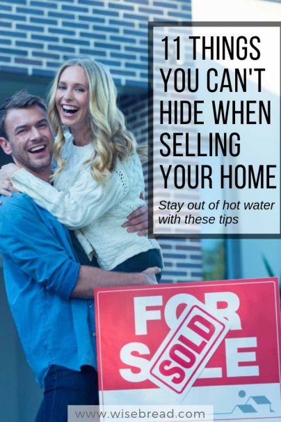 11 Things You Can't Hide When Selling Your Home