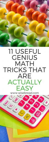 11 Useful, Genius Math Tricks That Are Actually Easy