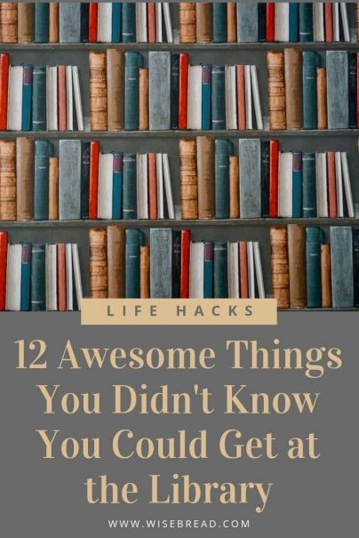 Public libraries have been doing an incredible job of keeping up with the times, and they have way more to offer than simply books and reference materials. Here are the awesome things you can find at the library. | #lifehacks #library