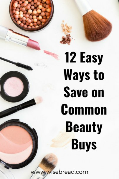 12 Easy Ways to Save on Common Beauty Buys