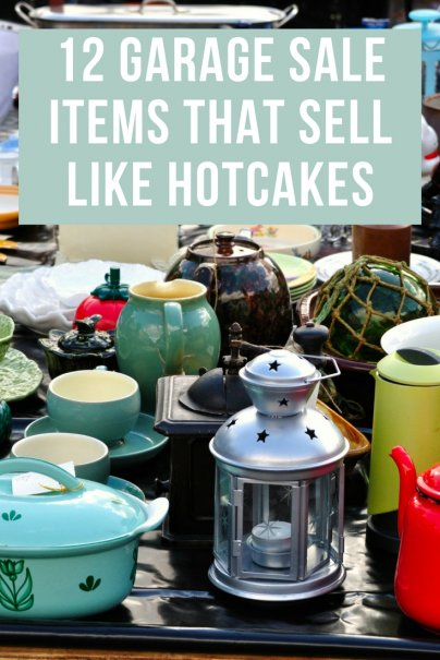 12 Garage Sale Items That Sell Like Hotcakes