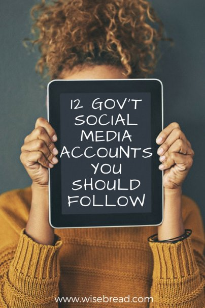 12 Gov't Social Media Accounts You Should Follow