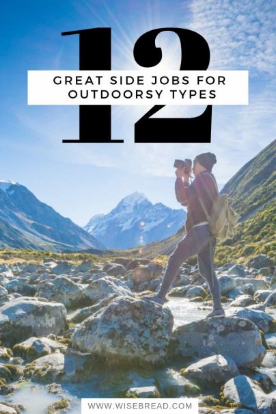 12 Great Side Jobs for Outdoorsy Types