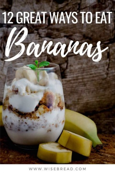 Banana's are not only healthy, but they are usually cheap to buy. We've got some great banana recipes, so check out this list for ideas from frozen to grilled. | #bananas #bananarecipes #foodhacks