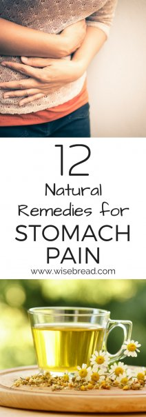 12 Natural Remedies for Stomach Pain