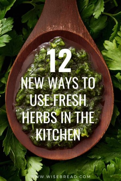 Want to grow your own herbs? Here are some simple ideas for what to do with herbs in your kitchen. | #herbs #recipes #thriftyfood
