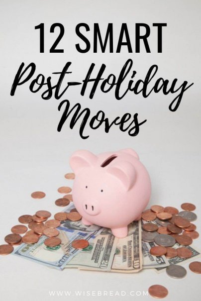 After a busy holiday season filled with giving and getting gifts, some of us feel the financial pinch in January. Keep your finances on track with these smart post-holiday money moves. | #moneymatters #finances #budgeting