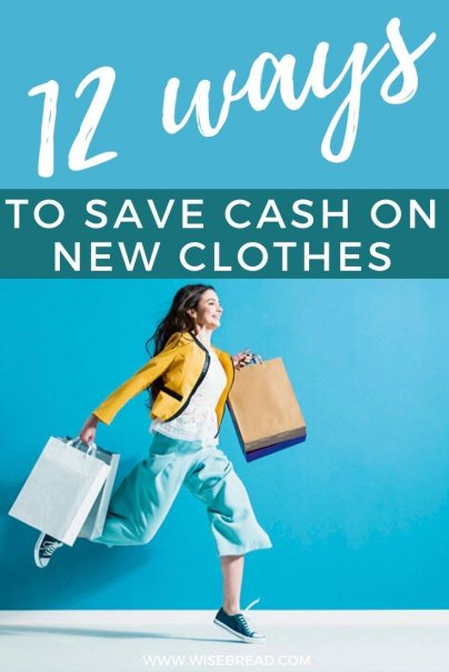 Do you want to save money on clothes? We've got some frugal and budget hacks to help you stick to a budget when you shop! | #shopping #savemoney #frugaltips