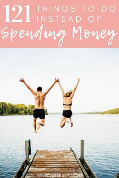 Want to know the best frugal and fun activities you can do to help you with saving money! We've got 121 tips and ideas of what things you can do instead of spending money! Whether you enjoy being outdoors or would rather kick back at home, these 100+ activities that won't break the bank! | #frugalliving #cheapactivities #freeactivities