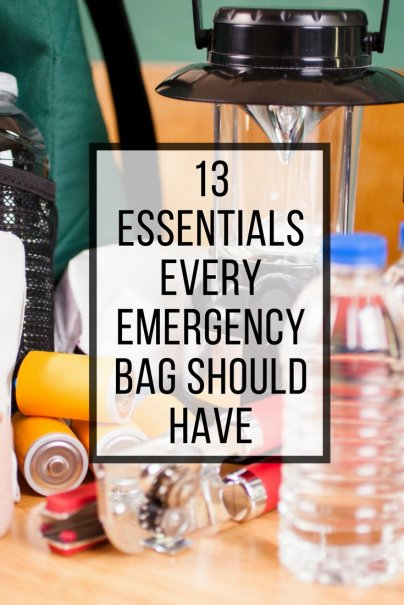13 Essentials Every Emergency Bag Should Have
