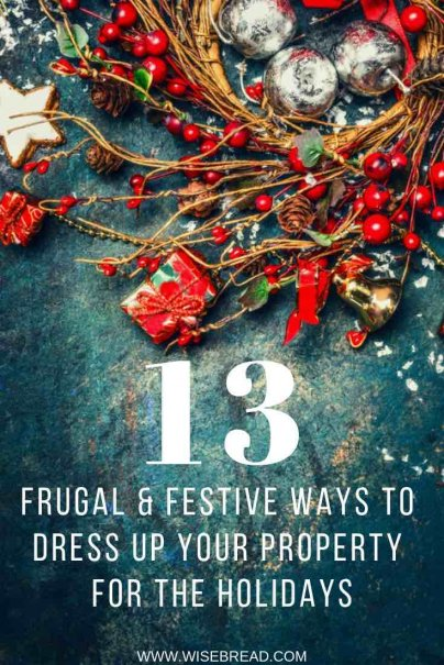 It's time to dress up our homes for the Christmas Festive Season! Looking for some DIY and frugal ideas to decorate? From ornaments, to DIY wreaths, decorative lights and home facelifts, we've got ideas and tips for you! | #DIY #frugalliving #christmasdecorations