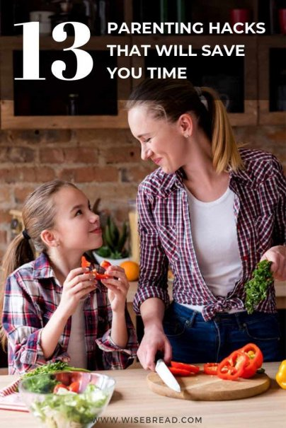 Are you a parent and want to save time? We've got the parenting tips and hacks to help you squeeze more time into your day. Check out these time saving hacks for parents to get more done in your day. | #timesaving #parenting #lifehacks