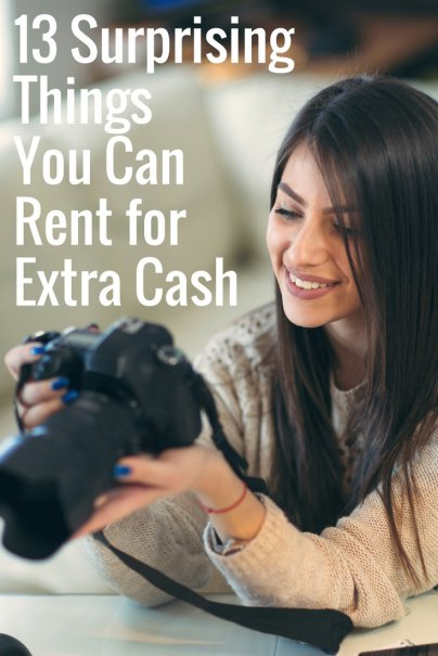 13 Surprising Things You Can Rent for Extra Cash