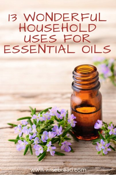 13 Wonderful Household Uses for Essential Oils