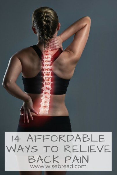 14 Affordable Ways to Relieve Back Pain