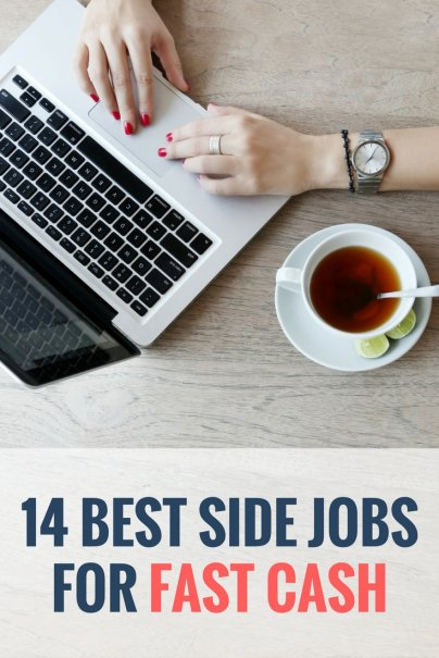 14 Best Side Jobs For Fast Cash