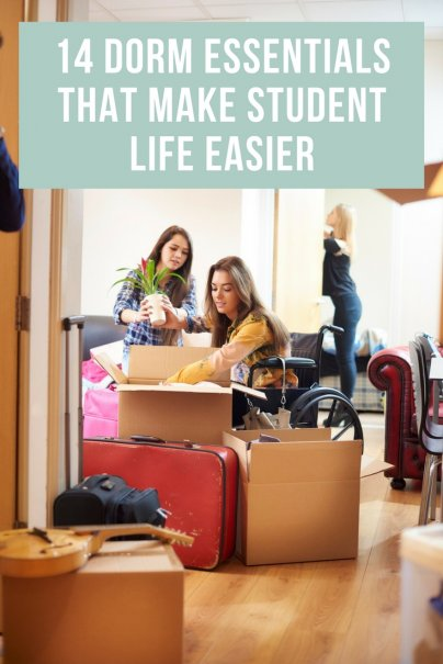 14 Dorm Essentials That Make Student Life Easier