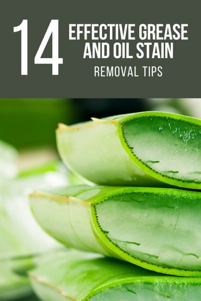 14 Effective Grease and Oil Stain Removal Tips