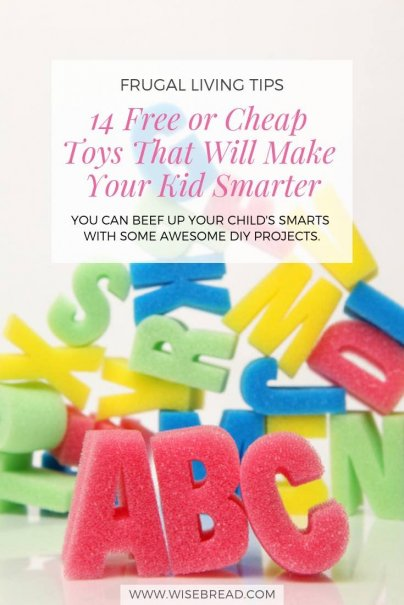 14 Free or Cheap Toys That Will Make Your Kid Smarter