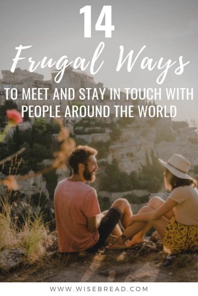 Want to make friends that live around the world? Well you can meet international friends at home, or when travelling abroad. Check out our 14 tips on how to increase your international circle of friends! | #internationalfriends #penpal #makefriends