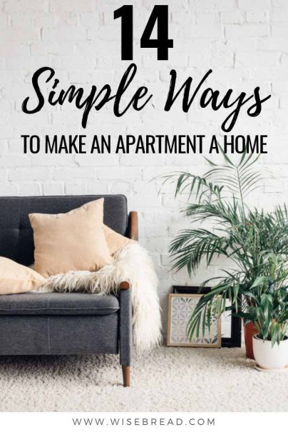 Looking for ways to make your new apartment feel like home? Check out our cheap, budget friendly and simple decorating and design ideas that will turn your space from cold, to cozy and fab. | #decorating #apartment #homedecor
