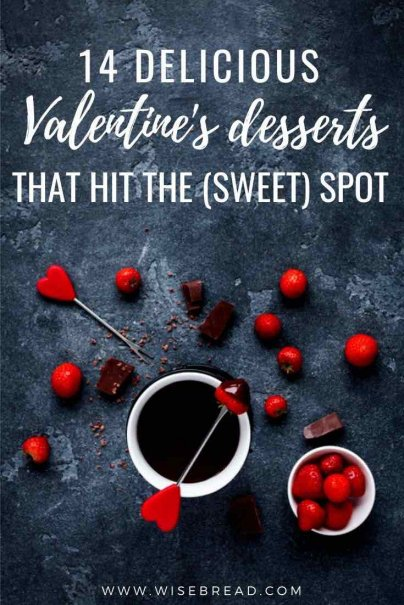Looking for some delicious Valentine's day desserts? We've got 15 homemade dessert ideas for you! | #desserts #valentinesday #dessert