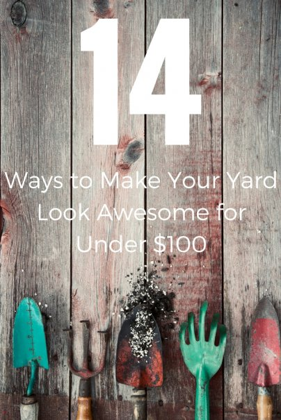 14 Ways to Make Your Yard Look Awesome for Under $100