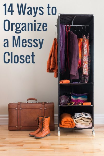 14 Ways to Organize a Messy Closet