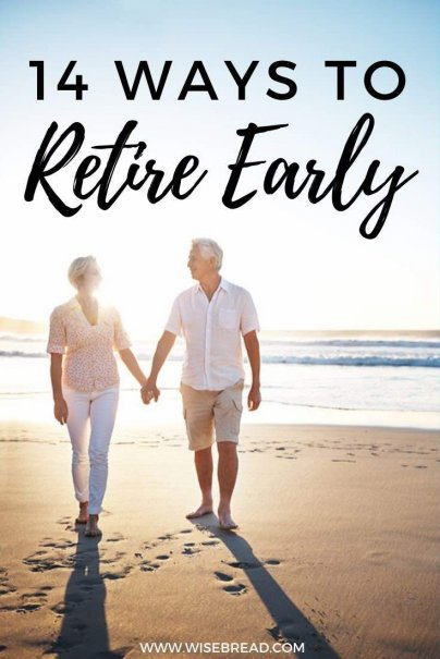 What if there were some practical things that you could do that would enable you to retire closer to 60 instead of 70? We've got the tips to help an early retirement happen! | #retire #retirement #earlyretirement