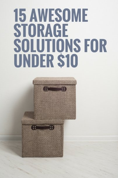 15 Awesome Storage Solutions for Under $10